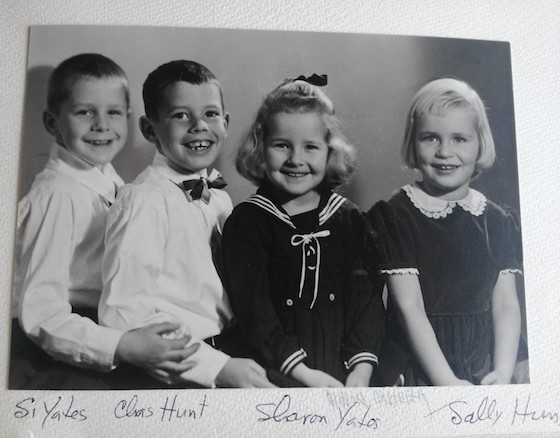 Four of Edna's grandchildren as kids