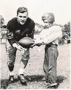 billy petit wells playing football