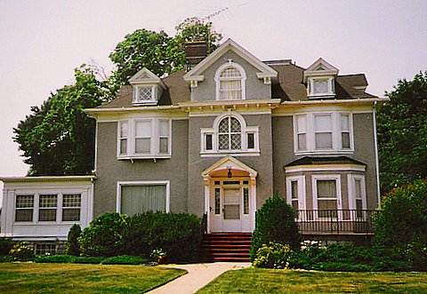 great aunt hattie's house across the street