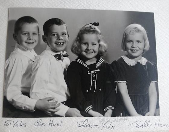 Four of Edna's grandchildren as kids