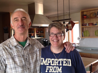 Will and Robin Walsh in Hesperus, Colorado